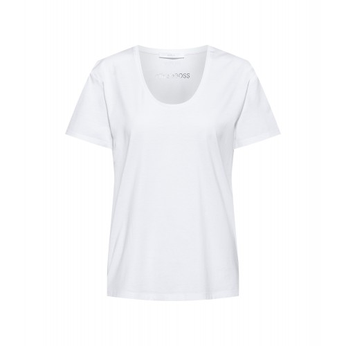 T-shirt HUGO BOSS Egreaty Blanc