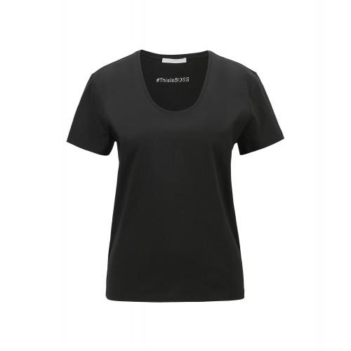 T-shirt HUGO BOSS Egreaty Noir