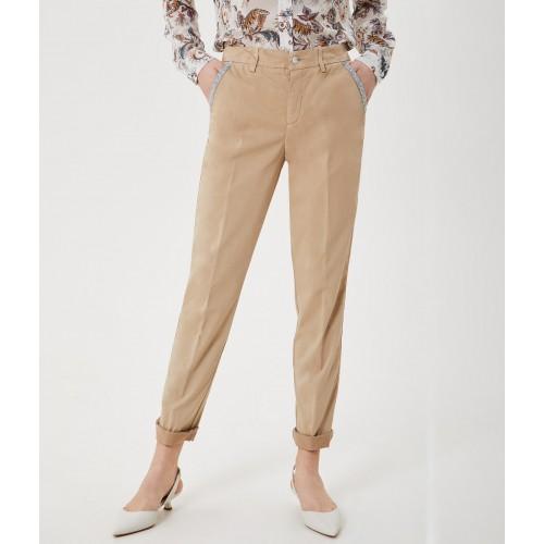 Pantalon LIU.JO Chino Beige