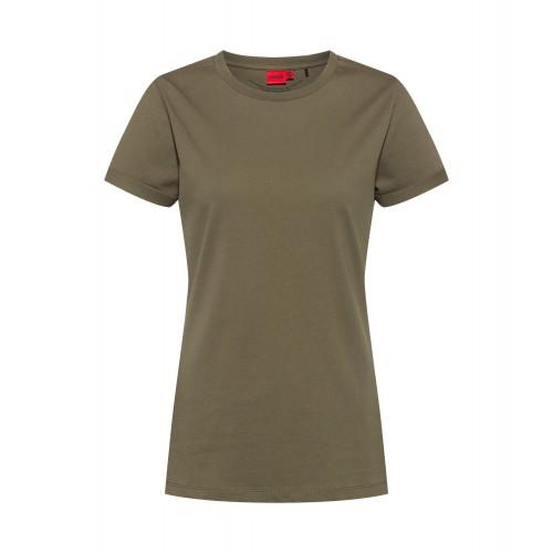 T-shirt HUGO Plain tee Kaki