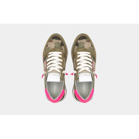Baskets PHILIPPE MODEL Tropez X Camouflage