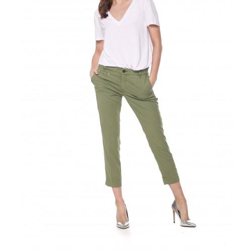 Pantalon MASON'S Jacqueline Kaki