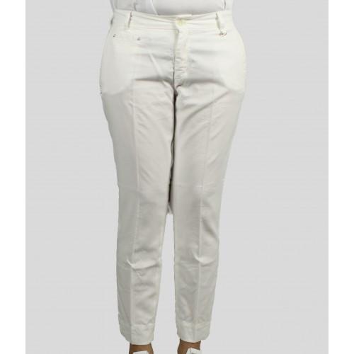 Pantalon MASON'S Jacqueline Blanc