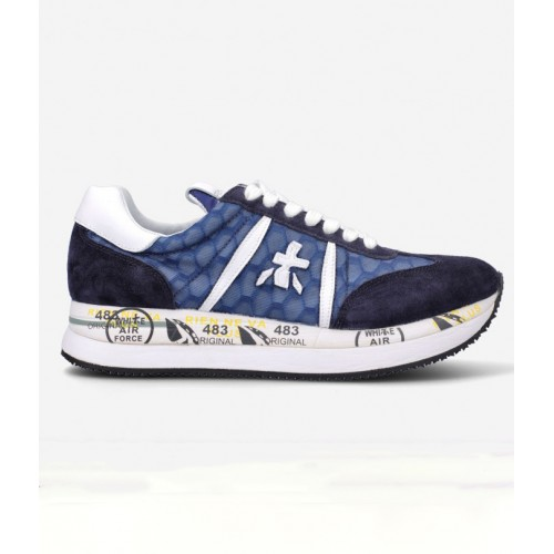 Baskets PREMIATA Conny Bleu Marine