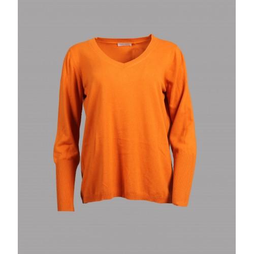 Pull Col V Gran Sasso Orange 57241