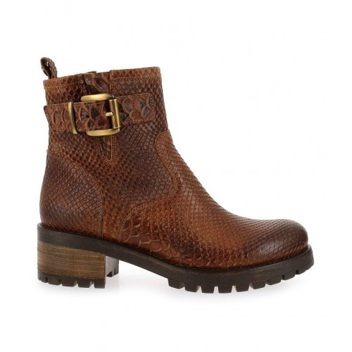 Bottines Sokona Minka Design Marron