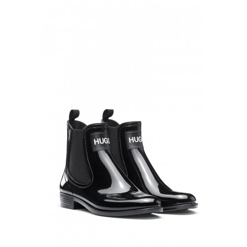 BOTTINES NOLITA HUGO EN GOMME NOIRE 50419674