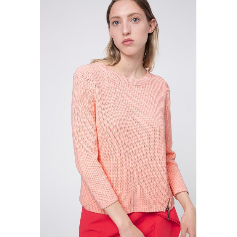 PULL SERLINY HUGO EN COTON ORANGE 50431055